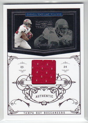 2010 Playoff National Treasures Century Material #138 Cadillac Williams #95/99