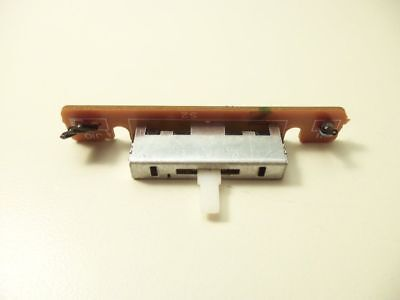 TECHNICS SL-B10 TURNTABLE PARTS - switch - speed