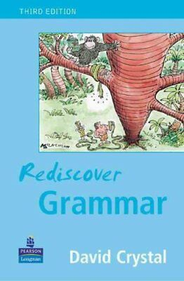 Rediscover Grammar Third edition by David Crystal 9780582848627