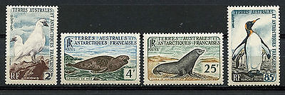 Tierras Australes, France, Animals Of Antartica, 1960, (Wwf)