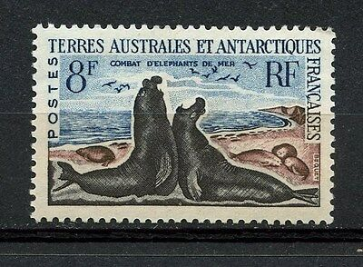 Tierras Australes, France, Animals Combat Of Antartica, 1962, (Wwf)
