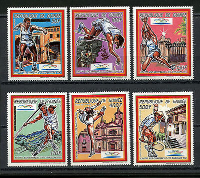 Guinée Stamps, The Olympic - Barcelona 1992, (6), Olimpiadas