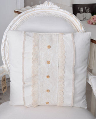 Nostalgia Cushion incl. Filling Decorative Cushion Shabby Chic Couch Cushion