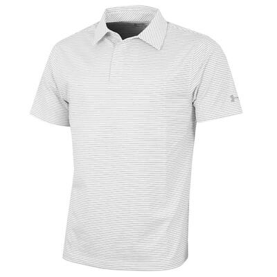 Under Armour 2017 Mens Crestable Playoff Pencil Stripe Polo Shirt - 56% OFF RRP