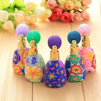 Empty Refillable Travel Perfume Atomizer Atomiser Pump Spray Bottle Container