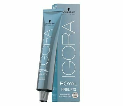 Schwarzkopf 12-19 Igora Royal Highlifts 60 ml spezialblond cendré violett