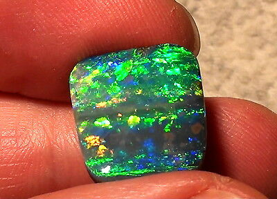 gem-class Boulder Opal Top Stone - 16,7ct. Brilliance 5 with Video