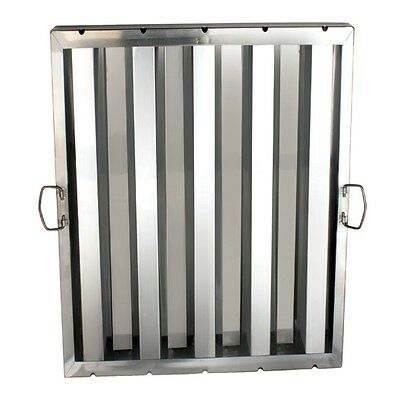 """1 Piece Stainless Steel Commercial Hood Filter 20"""" x 25"""" SLHF2025 New"""