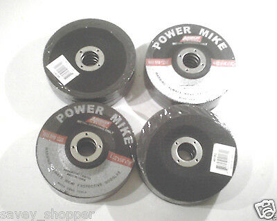 "Lot Of (20)  4 1/2 "" Inch X 7/8"" Inch Arbor X 1/4"" Thick Grinding Wheel/disc"