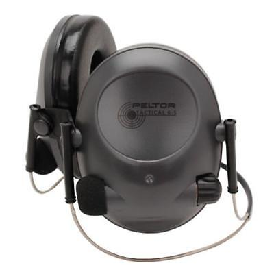Peltor 97043-00000 Tactical 6S Electronic Hearing Protectors Behind the Head