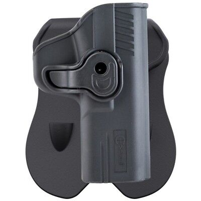 Caldwell 110058 Tac Ops Holster RH Black Polymer for S&W M&P Shield