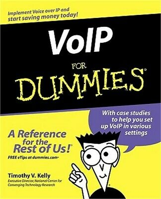 VoIP for Dummies (Paperback or Softback)