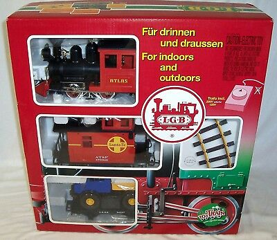 New Lgb 92430 Freight Starter Set G Scale Toy Train ***plus A Gift***