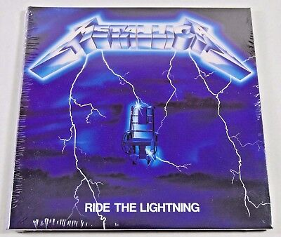 Metallica ~ Ride The Lightning ~ NEW CD Album (Digipack)