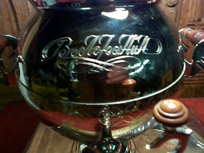 """Coffee Dispenser Urn Chrome Commercial """"Betofeehuh"""" Wedding Catering Supply Unit"""