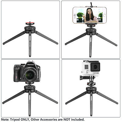 Neewer Mini Tabletop Handheld Tripod Stand Stabilizer Grip with Swivel Ball Head