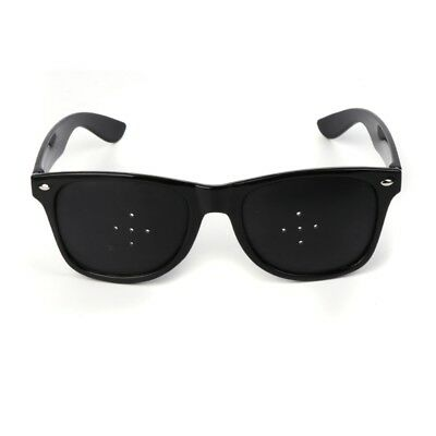 5 Holes Anti Fatigue Eyesight Vision Improve Pinhole Stenopeic Glasses Eyewear