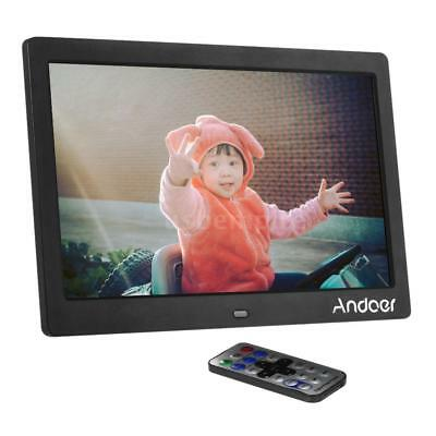 """10""""in HD LED Digital Photo Frame Picture Album Movie Player Remote Control G1A6"""
