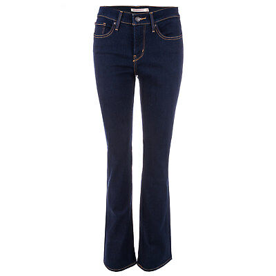 Womens Levi's 315 Shaping Bootcut Jeans In Splash Blue From Get The Label