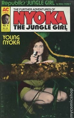 Further Adventures of Nyoka The Jungle Girl (1988) #4 FN