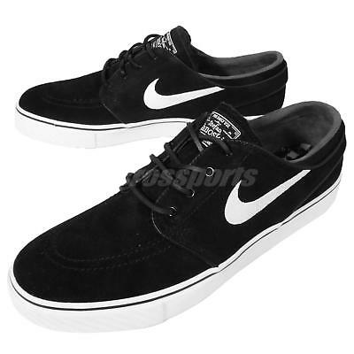 Nike Air Zoom Stefan Janoski OG Black White Mens Skateboarding Shoes 833603-012