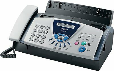 Brother FAXT104 Thermal Transfer Small Office Home Fax Machine