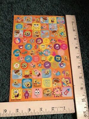 Spongebob Squarepants Stickers One Sheet Viacom