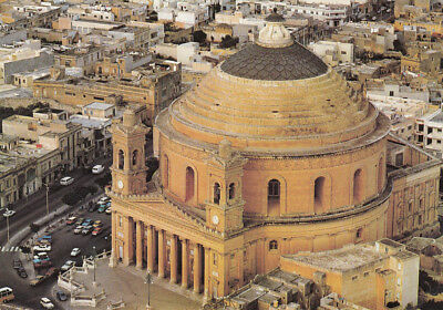 Ak Ungel. The Mosta Church Mosta Malta  (G3118)