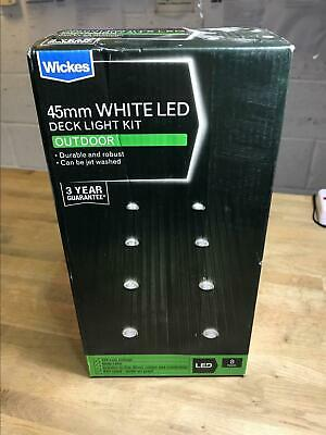 Wickes Decking Lights 2 X 8 Leds, Wickes Outdoor Deck Lights
