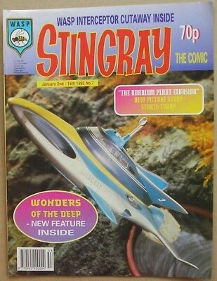 Stingray the Comic Issue 7 from January 1993
