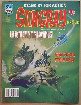 Stingray the Comic Issue 9 from Febuary 1993