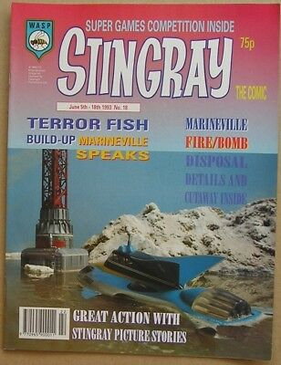 Stingray the Comic Issue 18 from June 1993