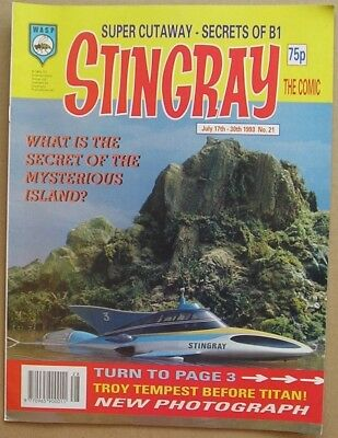 Stingray the Comic Issue 21 from July 1993