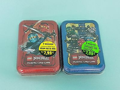 Lego® Ninjago™ Serie 2 Trading Card Game Mini Tin Box A + B LE9 + LE10