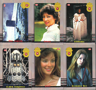 Doctor Who Cornerstone Series 3 Complete Set Of 6 Companions Cards