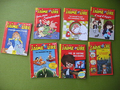 7 french magazines ** J'AIME LIRE **   7-12 years old, Bayard,   free shipping