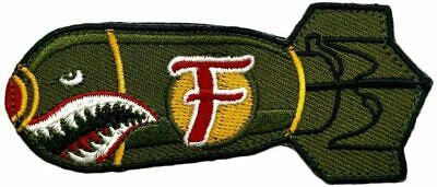 Dropping F Bomb WW 2 Style Tactical morale Hook Patch by Miltacusa (MTF1)