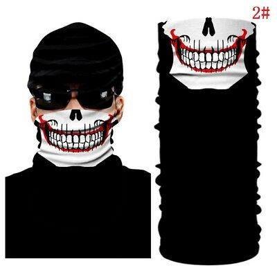 1 PCS Clown Cycling Motorcycle Neck Tube Ski Scarf Face Mask Balaclava Halloween