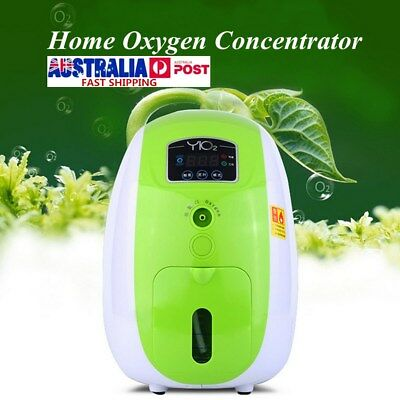 1-5L/min Portable Full Intelligent Home Oxygen Concentrator Generator Machine AU