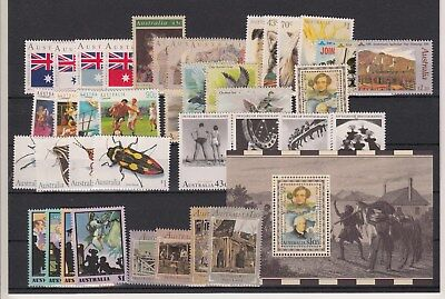 1991 year collection of 40 stamps + 1 x miniature sheet. MUH/MNH and cheap
