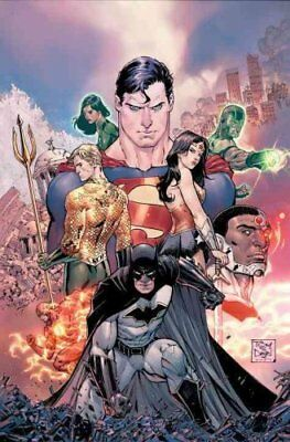 Justice League HC Vol 1 & 2 Deluxe Edition Rebirth by Bryan Hitch (Hardback,...