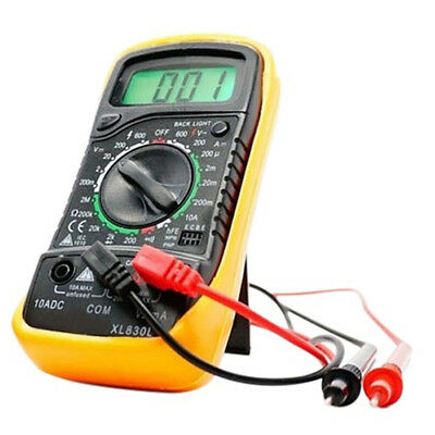 New Digital Multimeter XL830L Volt Meter Ammeter Ohmmeter Yellow Tester Hot Sale