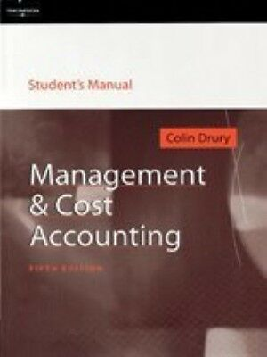 management cost accounting colin drury pdf