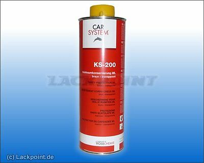 1 L. Top Cavity Protection KS-200 CARSYSTEM NEW lackpoint Trend NEW BMW Audi
