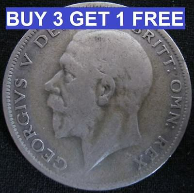 1920 To 1936 George V Silver Half Crowns Choice Of Year Special Offer
