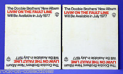Doobie Brothers 1977 Livin' On The Fault Line Rare Record Store LP Bin Dividers