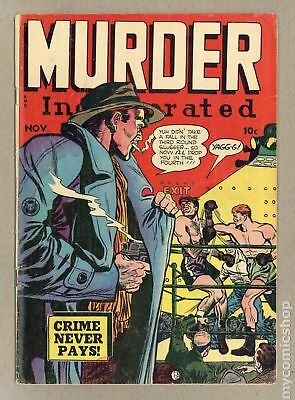 Murder Incorporated (1948 1st Series) #6 GD+ 2.5