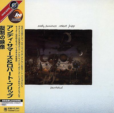 Andy Summers Robert Fripp 2002 Bewitched Promo Japan CD UICY-9241 The Police