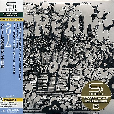 Cream 2008 Wheels of Fire Promotional Japan Import 2-SHM-CD UICY-93696/7