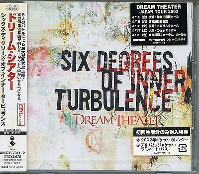 Dream Theater 2002 Six Degrees Of Inner Turbulence Japan Import CD AMCY-7311-2